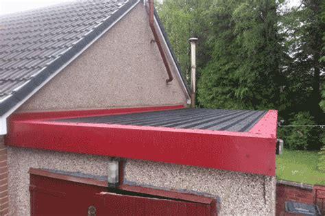 asbestos garage roof repair newton mearns  solution