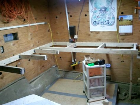weekend project man cave workbench ak eric