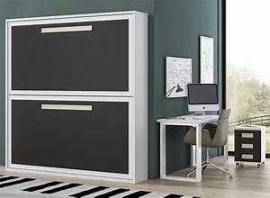 Lit Placard Ikea : cool great meuble lit uu armoire lit escamotable design de qualit prix with lit abattant ikea ~ Nature-et-papiers.com Idées de Décoration