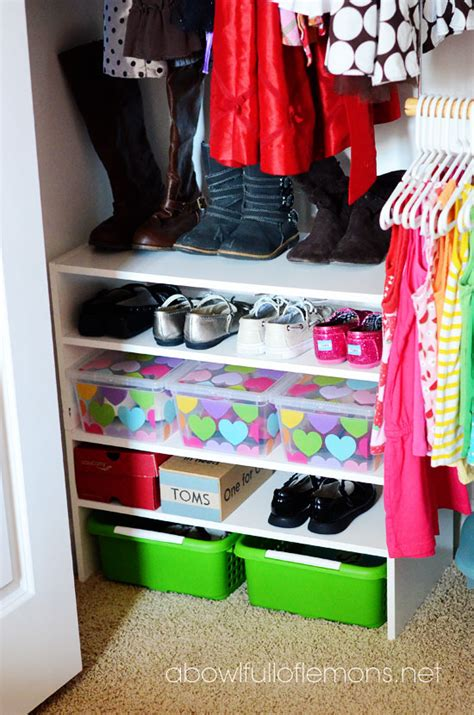 Kid Closet Organizer - organization challenge closets a bowl of lemons