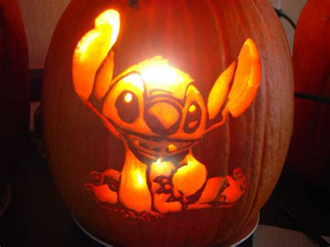 Disney Pumpkin Templates Stitch Wwwimgkidcom The