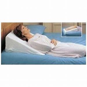 pillow wedge memory foam aid sleep neck back leg foot With back wedge for sleeping