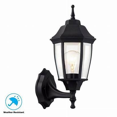 Lantern Wall Outdoor Lighting Hampton Dawn Dusk
