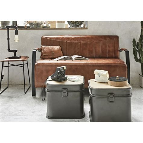 With such a wide selection of products for sale, from brands like trademark fine art, style and apply, and safavieh, you're sure to find something that you'll love. Retro Silver Industrial Metal Coffee Table Storage Trunk Boxes