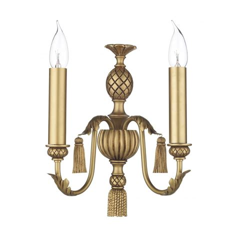 classic antique gold wall light for period georgian