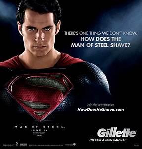 Best Of Steel : how does the man of steeltm shave gillette news ~ Frokenaadalensverden.com Haus und Dekorationen