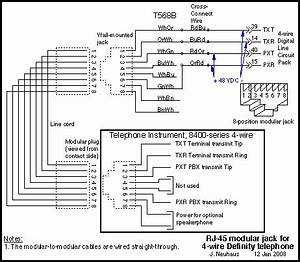 Telephone Network Interface Wiring Diagram