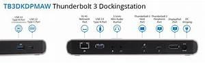Zwei Monitore Verbinden : thunderbolt 3 dock zwei 4k monitore amazon ~ Jslefanu.com Haus und Dekorationen