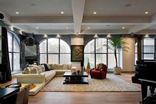 wohnzimmer industrial two beautiful lofts for sale in tribeca new york city