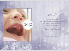 Dankeskarte Taufe Iliana 2