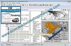 Vw Touareg Workshop Repair Manual