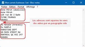 Modèle Changement D Adresse : traitement de texte atlantis aide en ligne les carnets d 39 adresses d 39 atlantis ~ Gottalentnigeria.com Avis de Voitures
