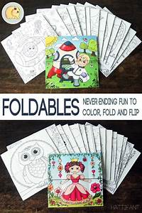 Foldables Never Ending Fun To Color Fold And Flip