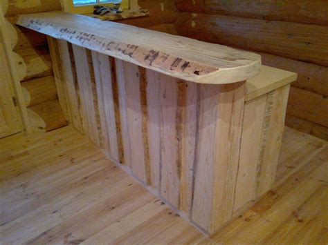 Tresen Selber Bauen Holz by Theke Selber Bauen Rustikal Wohndesign Ideen