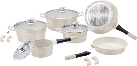 batterie de cuisine swiss line royalty line swiss 14pcs batterie de cuisine revêtement