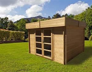 Abri De Bois : chalet jardin boutique abri bois toit plat 28mm ~ Melissatoandfro.com Idées de Décoration