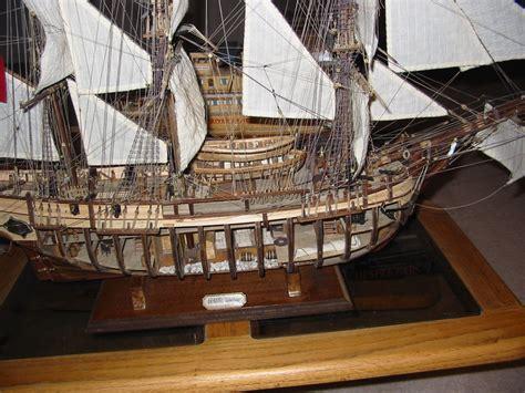 occre bounty  cut  section wood ship model kits