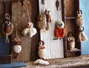 macrame owl wall hanging ornaments novacom