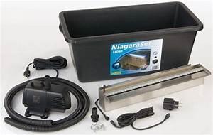 Lame D Eau Bassin : lame d 39 eau niagara set 60 led pompe bassin abris ~ Premium-room.com Idées de Décoration