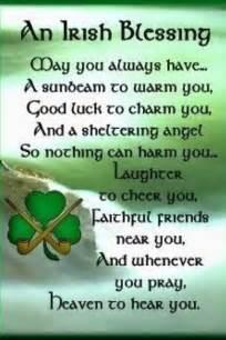 Irish Blessing Facebook