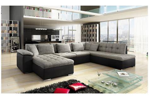 canapé d angle panoramique canap 233 d angle convertible en u alta i design