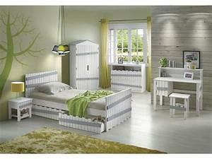 Conforama Chambre Adulte : lit 90x200 cm amazone coloris blanc et gris vente de lit ~ Melissatoandfro.com Idées de Décoration