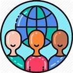 Citizen Icon Global Citizenship Community Vectorified