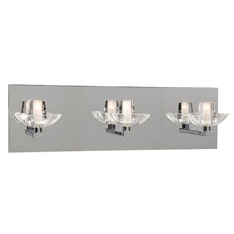 filament design negron 3 light chrome halogen bath vanity