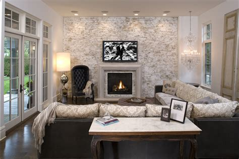 stickman living room 2 faux brick wall family room mediterranean with accent wall