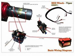 Viper Winch Wiring Diagram