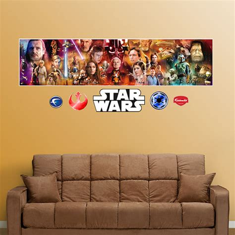 fathead wars mural graphic