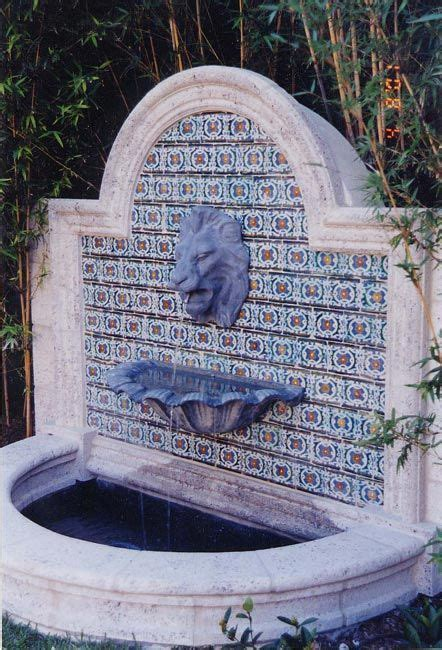 26 best fountains mexican images on haciendas