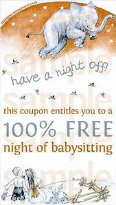 Free Printable Coupon Template Have A Night Off Babysitting Voucher Free Printables Online