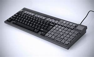 Wombat, U00ae, Programmable, Keyboard, With, Touchpad