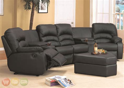 reclining sectional sofas for small spaces sectional sofas with recliners for small spaces
