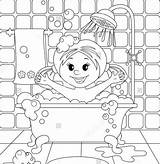 Coloring Baby Pages Shower Colouring Twin Template sketch template