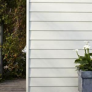 Bardage Métallique Leroy Merlin : clin pour bardage pvc blanc faza 2 4 m leroy merlin ~ Carolinahurricanesstore.com Idées de Décoration