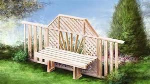Fabrication Avec Palette : fabrication d 39 un banc de jardin fabriquer des meubles avec des palettes ~ Preciouscoupons.com Idées de Décoration