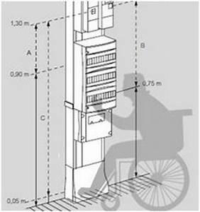 Dimension Tableau Electrique : tableau electrique hauteur norme menuiserie image et conseil ~ Melissatoandfro.com Idées de Décoration