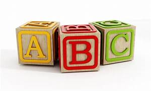 educational toys With block letters toys