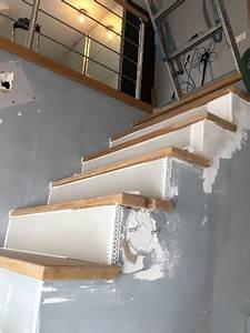 Décoration D Escalier Intérieur : r alisation peinture et d coration hall d entr e cage d escalier porte int rieur et escaliier ~ Nature-et-papiers.com Idées de Décoration