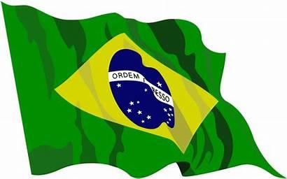 Brazil Flag Clip Vector Clipart Transparent Brazilian