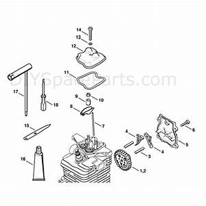 Stihl Br 600 Backpack Blower  Br 600  Parts Diagram  Valve