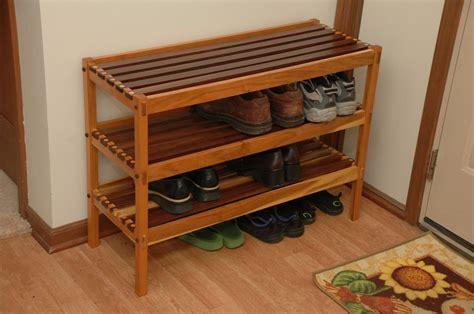 shoe rack   stokes  lumberjockscom woodworking community