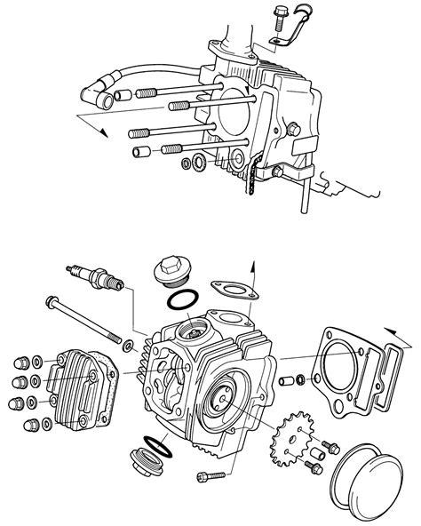 Tips Bongkar Mesin motor tipe Bebek 4 tak | Modif Sepeda Motor