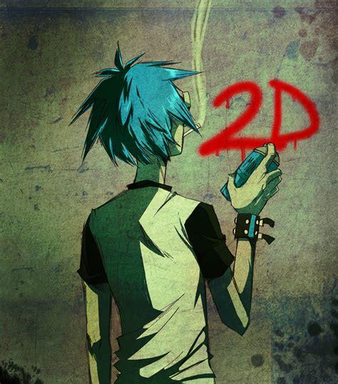 Anime Wallpaper 2d - 2d gorillaz zerochan anime image board
