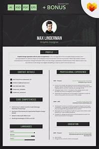 Free Resume Builder Max Linderman Graphic Designer Resume Template 66455