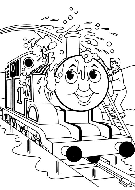 thomas  train easter coloring pages coloring home
