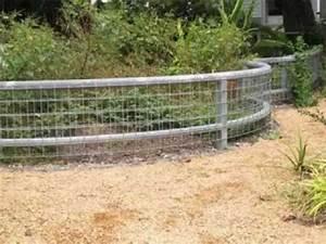 Cheap garden fence ideas - YouTube