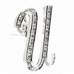 monogram letters u silver corsage creations With silver monogram letters